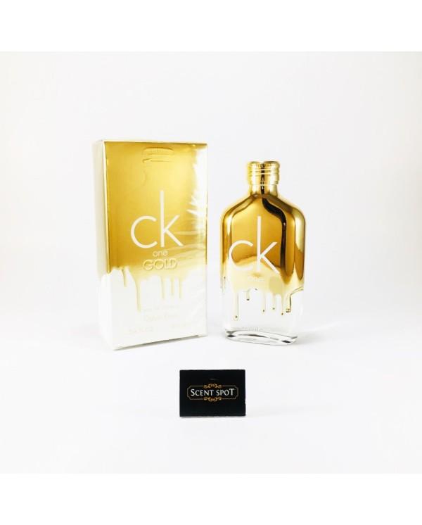yksityiskohtaisesti tyylikkäät kengät uusia valokuvia CK One Gold by Calvin Klein (New in Box) 100ml Eau De Toilette Spray  (Unisex)