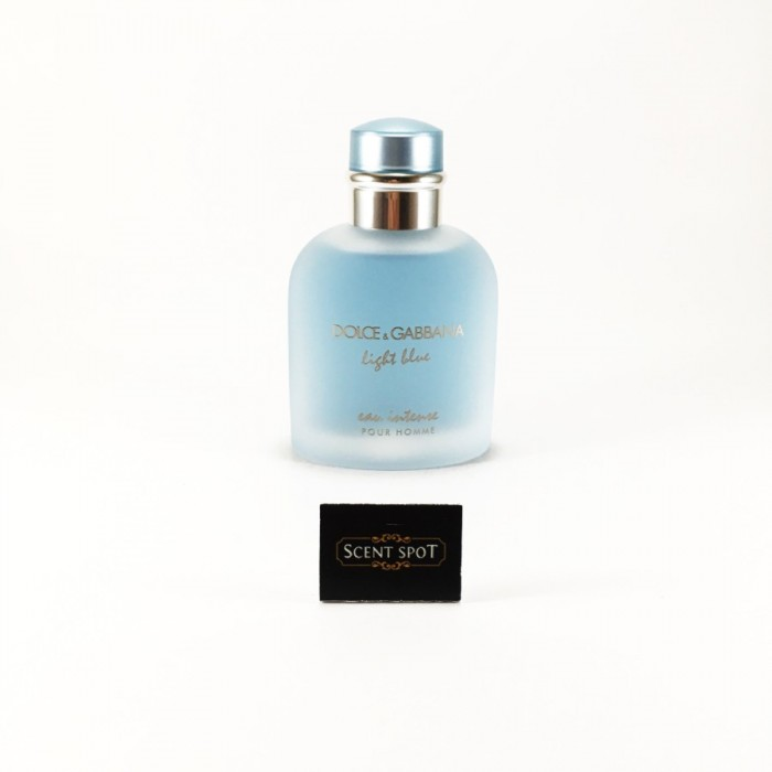 Light Blue Eau Intense by Dolce & Gabbana (Tester) 100ml Eau De Parfum Spray (Men)