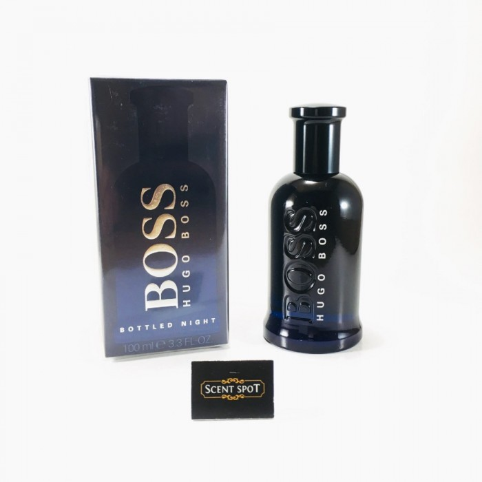 Boss Bottled Night by Hugo Boss (New in Box) 100ml Eau De Toilette Spray (Men)