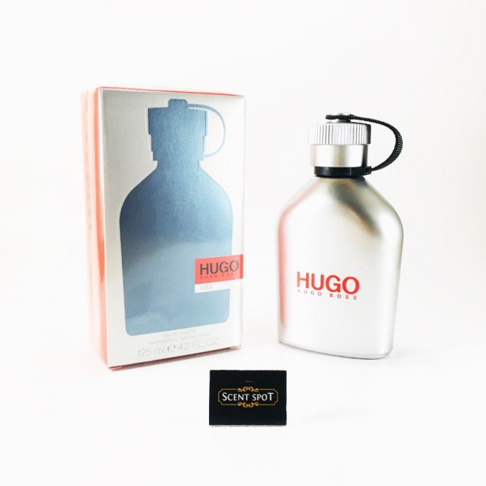 Hugo Iced by Hugo Boss (New in Box) 125ml Eau De Toilette Spray (Men)