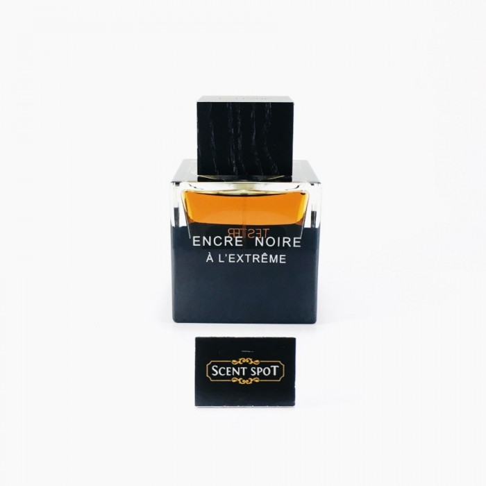 Encre Noire A L'extreme by Lalique (Tester) 100ml Eau De Parfum Spray (Men)