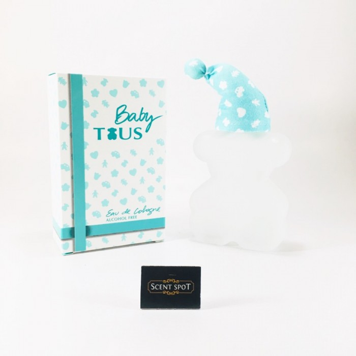 Baby Tous (Alcohol Free) by Tous (New in Box) 100ml Eau De Cologne Spray (Unisex)