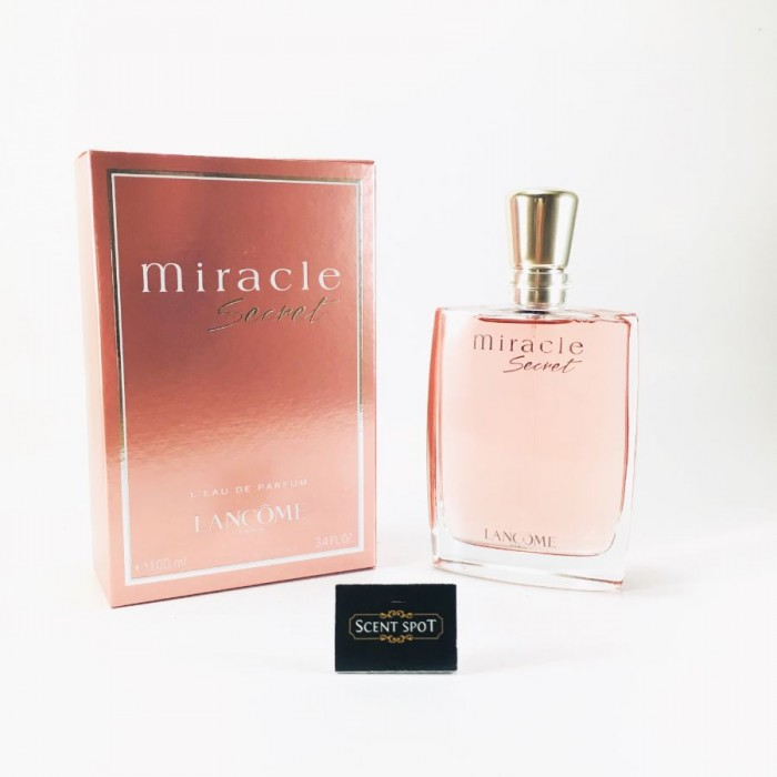 Miracle Secret by Lancome (New in Box) 100ml Eau De Parfum Spray (Women)