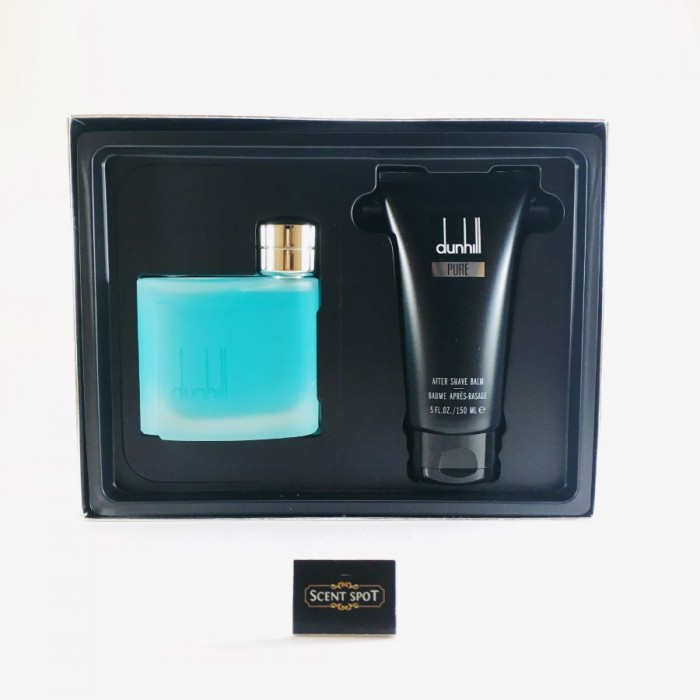 Pure by Alfred Dunhill (Gift Set) - 75ml Eau De Toilette Spray + 150ml After Shave Balm for Men (Men)