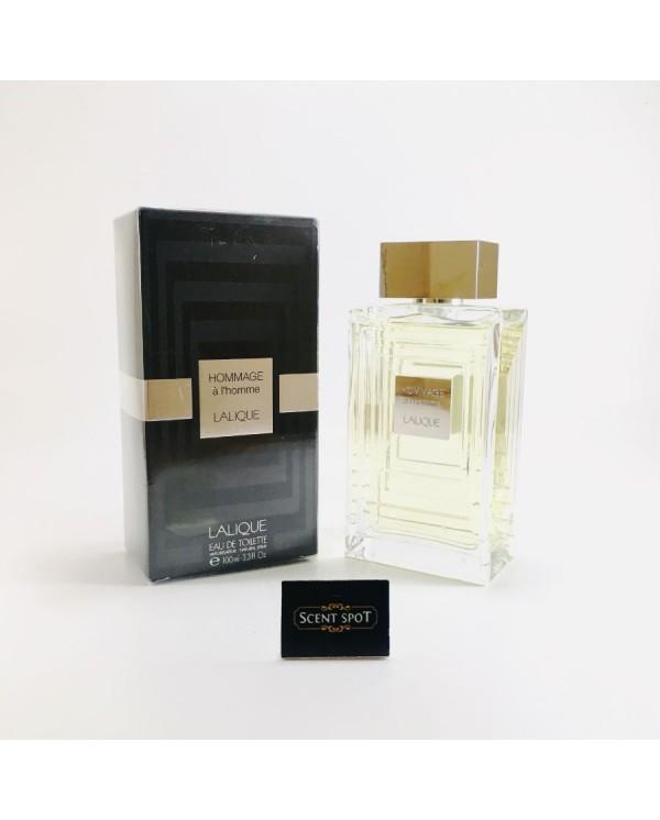 Hommage A L'homme by Lalique (New in Box) 100ml Eau De Toilette Spray (Men)