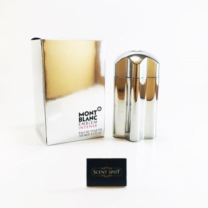 Emblem Intense by Mont Blanc (New in Box) 100ml Eau De Toilette Spray (Men)