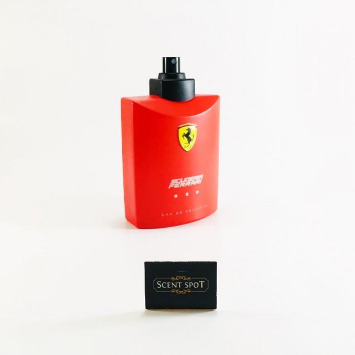 Ferrari Scuderia Red by Ferrari (Tester) 125ml Eau De Toilette Spray (Men)