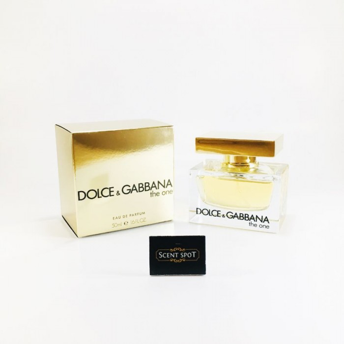 The One by Dolce & Gabbana (New in Box) 50ml Eau De Parfum Spray (Women)