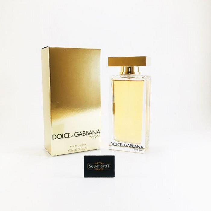 The One by Dolce & Gabbana (New in Box) 100ml Eau De Toilette Spray (Women)