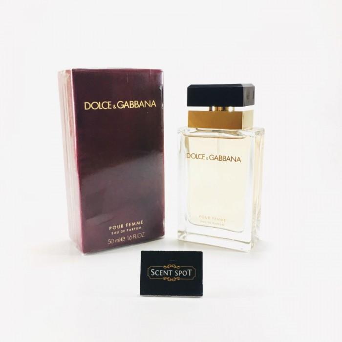 Pour Femme by Dolce & Gabbana (New in Box) 50ml Eau De Parfum Spray (Women)