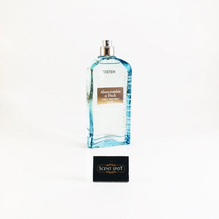 First Instinct Blue by Abercrombie & Fitch (Tester) 100ml Eau De Toilette Spray (Women)