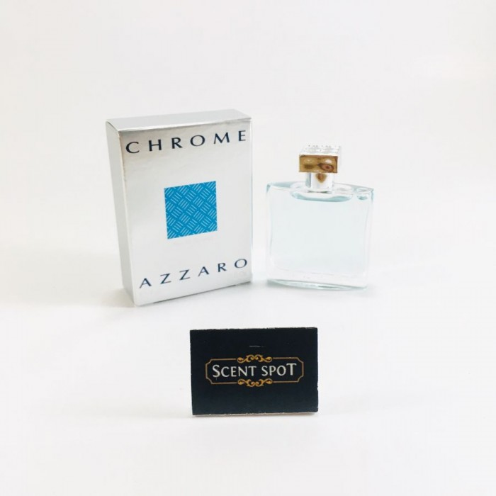 Chrome by Azzaro (Miniature / Travel) 7ml Eau De Toilette Dab On (Men)