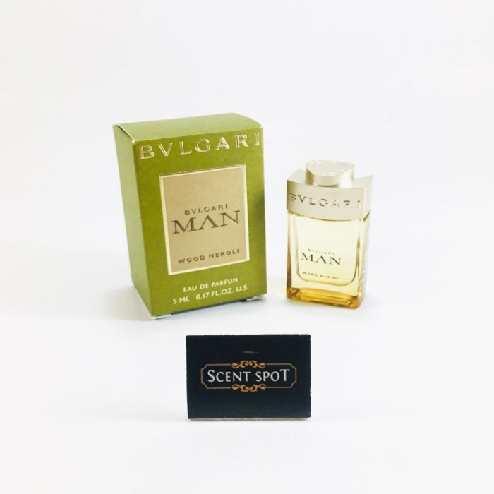 Bvlgari Man Wood Neroli by Bvlgari (Miniature / Travel) 5ml Eau De Parfum Dab On (Men)