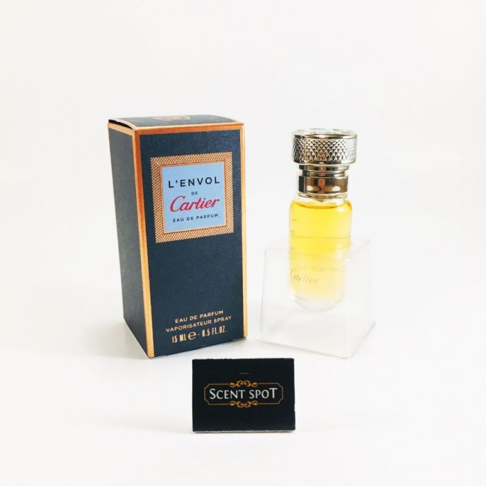 L'Envol De Cartier by Cartier (Miniature / Travel) 15ml Eau De Parfum Spray (Men)