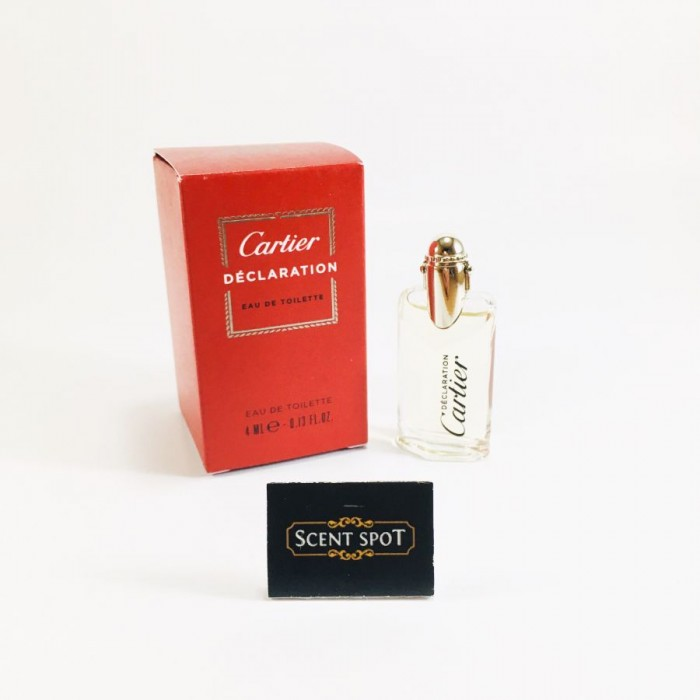Declaration by Cartier (Miniature / Travel) 4ml Eau De Toilette Dab On (Men)