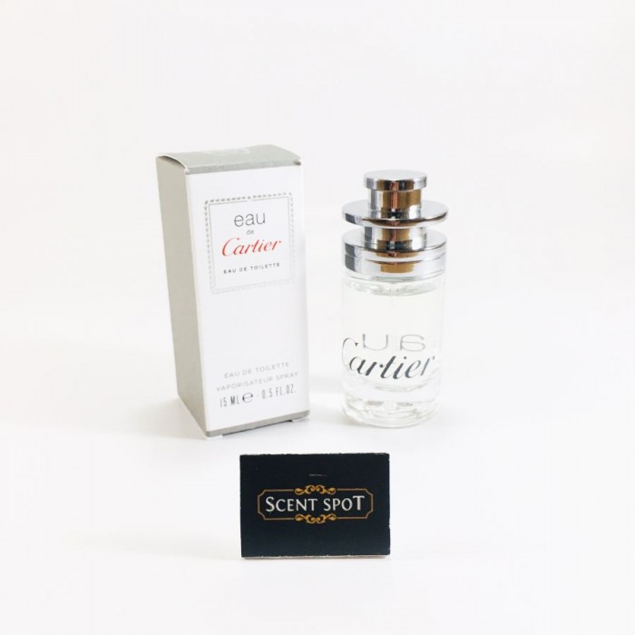 Eau de Cartier by Cartier (Miniature / Travel) 15ml Eau De Toilette Spray (Unisex)