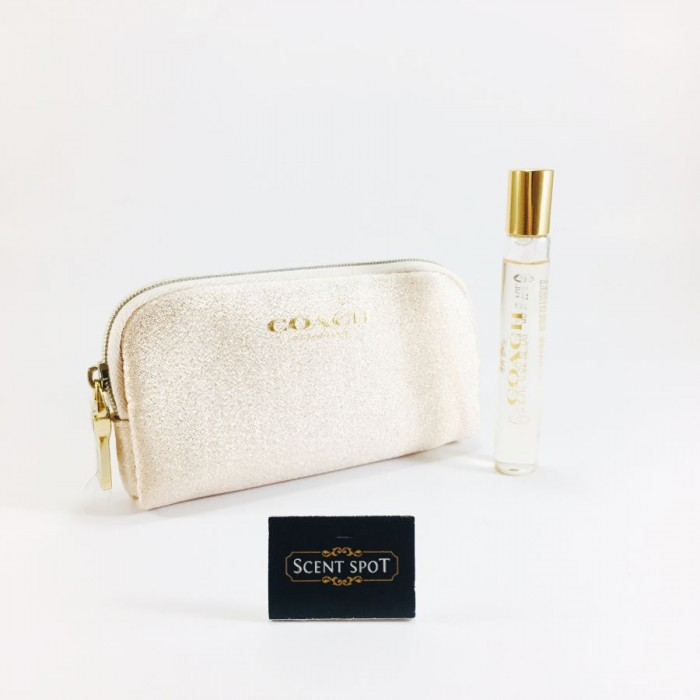Coach the Fragrance EDP (With Pouch) by Coach (Miniature / Travel) 7.5ml Eau De Parfum Spray (Women)