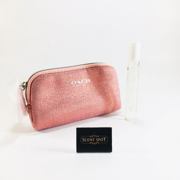 Coach Floral Blush EDP (With Pouch) by Coach (Miniature / Travel) 7.5ml Eau De Parfum Spray (Women)