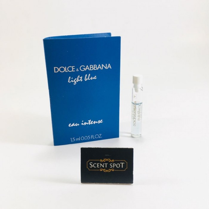 Light Blue Intense by Dolce & Gabbana (Vial / Sample) 1.5ml Eau De Parfum Dab On (Women)