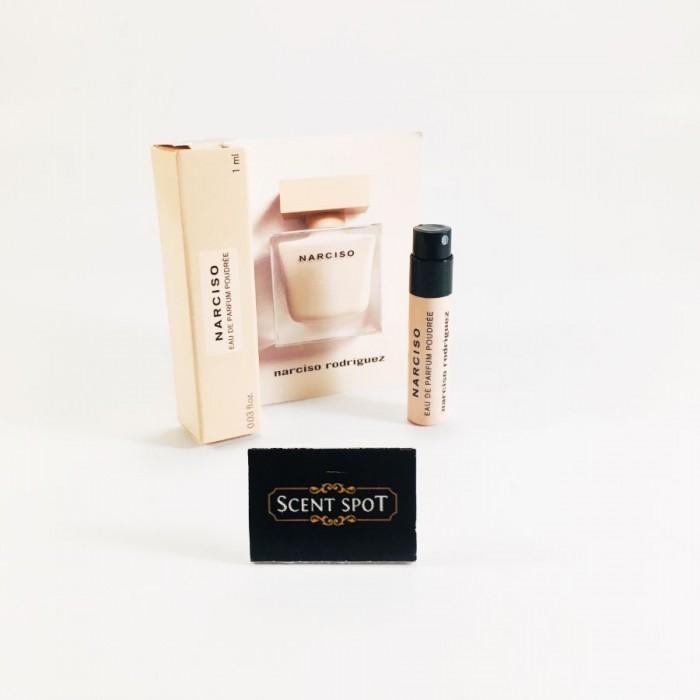 Narciso Poudree by Narciso Rodriguez (Vial / Sample) 1.0ml Eau De Parfum Spray (Women)
