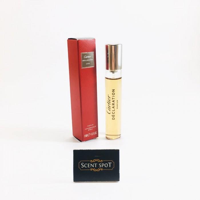 Declaration Parfum Cartier by Cartier (Miniature / Travel) 9ml Parfum Spray (Men)