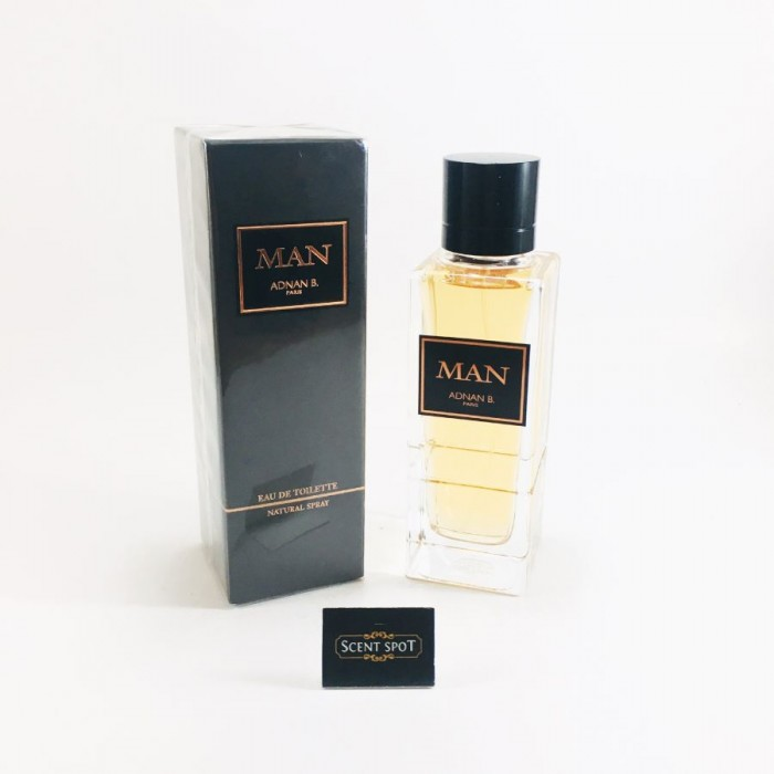 Adnan Man by Adnan B. (New in Box) 100ml Eau De Toilette Spray (Men)