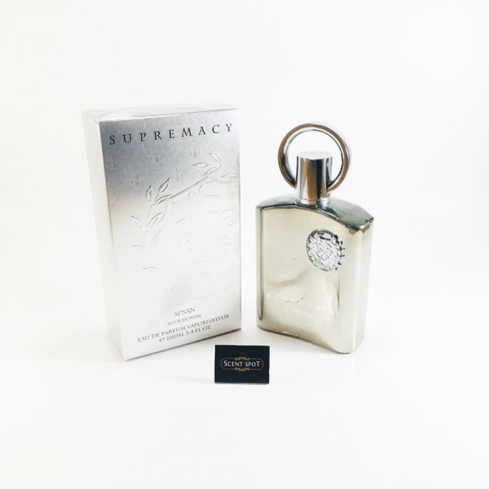 Supremacy Silver by Afnan (New in Box) 100ml Eau De Parfum Spray (Men)