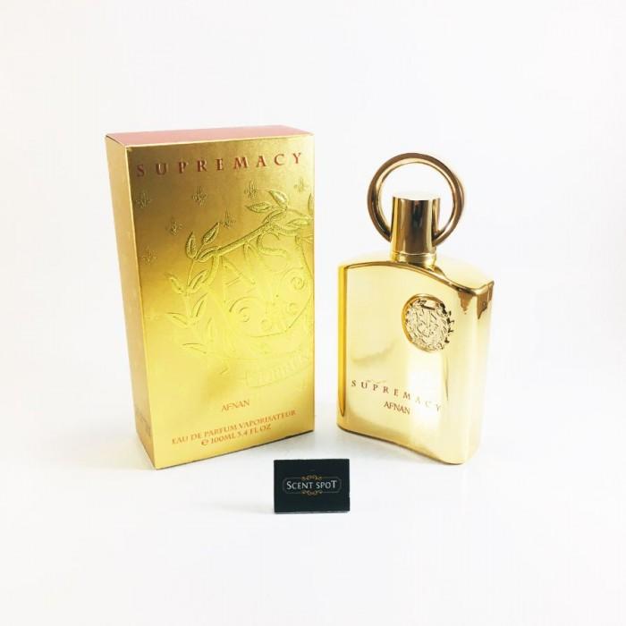 Supremacy Gold by Afnan (New in Box) 100ml Eau De Parfum Spray (Unisex)