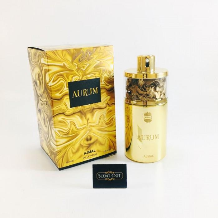 Aurum by Ajmal (New in Box) 75ml Eau De Parfum Spray (Women)