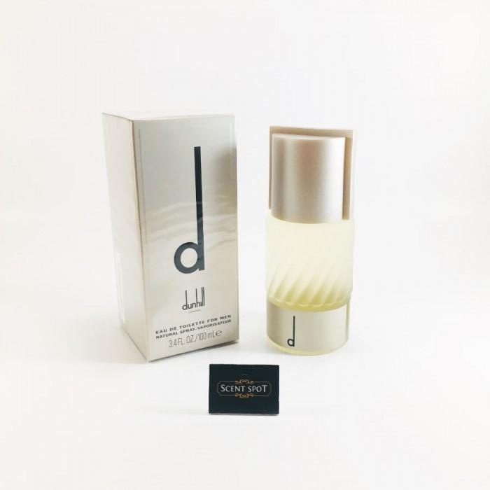 D by Alfred Dunhill (New in Box) 100ml Eau De Toilette Spray (Men)