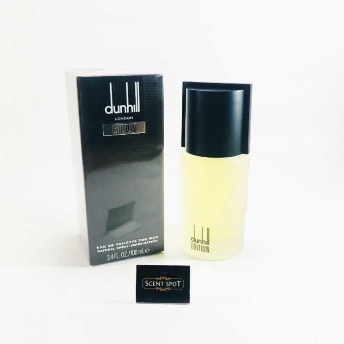 Dunhill Edition by Alfred Dunhill (New in Box) 100ml Eau De Toilette Spray (Men)