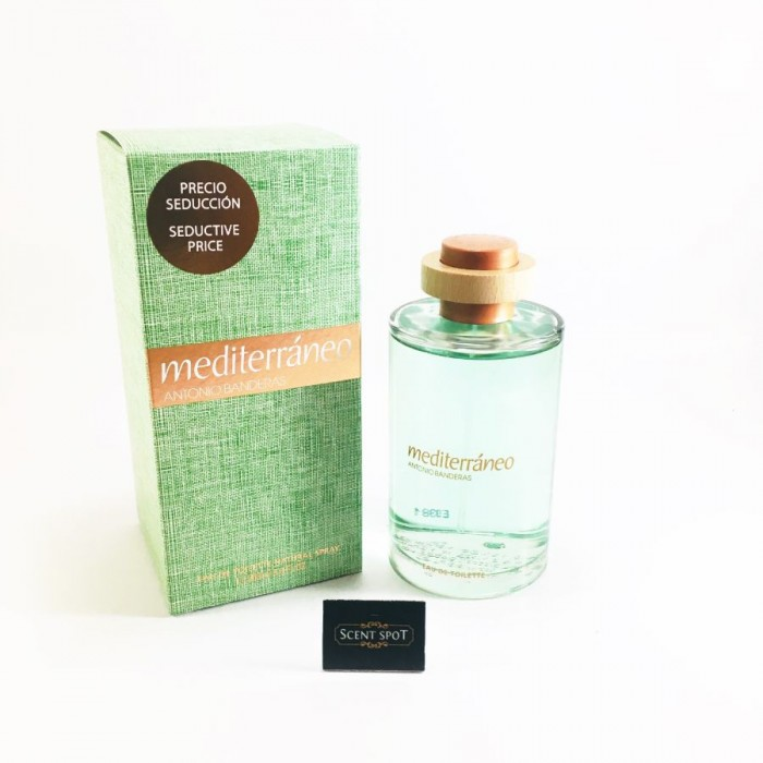 Mediterraneo by Antonio Banderas (New in Box) 200ml Eau De Toilette Spray (Men)