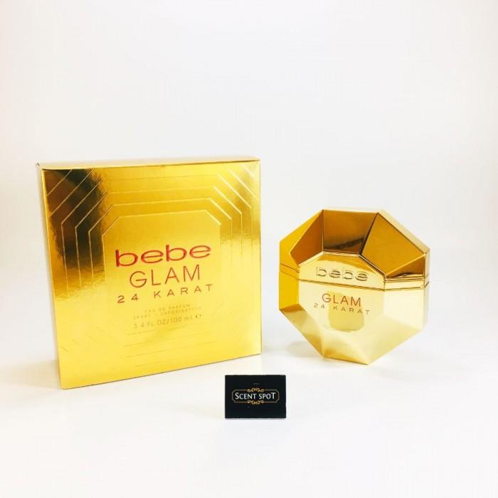 Bebe Glam 24 Karat by Bebe (New in Box) 100ml Eau De Parfum Spray (Women)