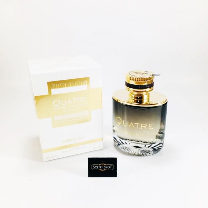 Quatre Absolu De Nuit by Boucheron (New in Box) 100ml Eau De Parfum Spray (Women)