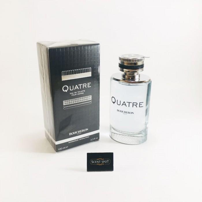 Quatre by Boucheron (New in Box) 100ml Eau De Toilette Spray (Men)