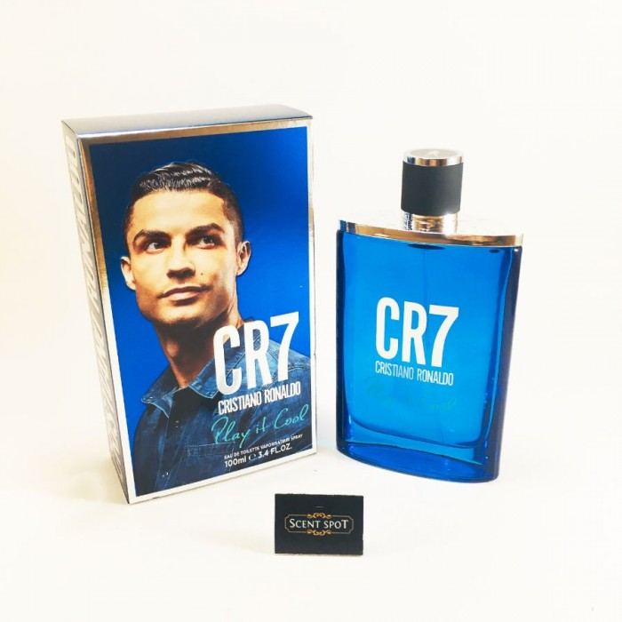 CR7 Play It Cool by Cristiano Ronaldo (New in Box) 100ml Eau De Toilette Spray (Men)