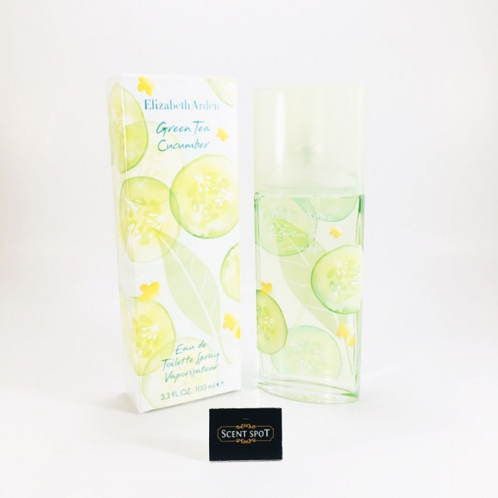 Green Tea Cucumber by Elizabeth Arden (New in Box) 100ml Eau De Toilette Spray (Women)