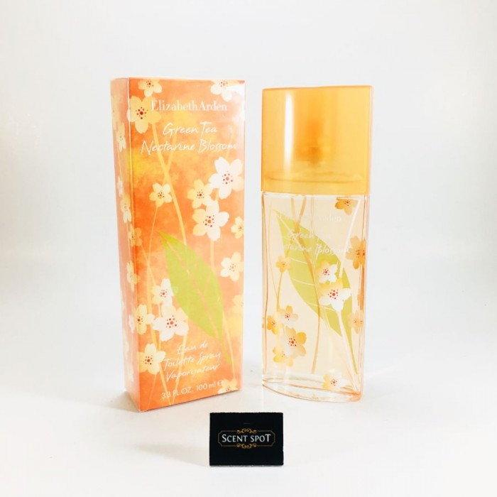 Green Tea Nectarine Blossom by Elizabeth Arden (New in Box) 100ml Eau De Toilette Spray (Women)