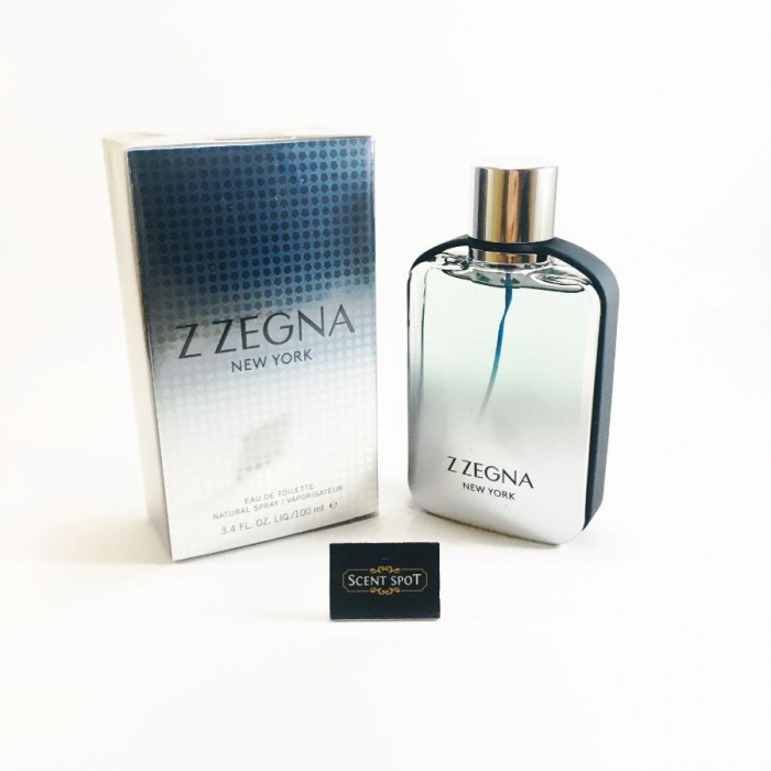 Z Zegna New York by Ermenegildo Zegna (New in Box) 100ml Eau De Toilette Spray (Men)