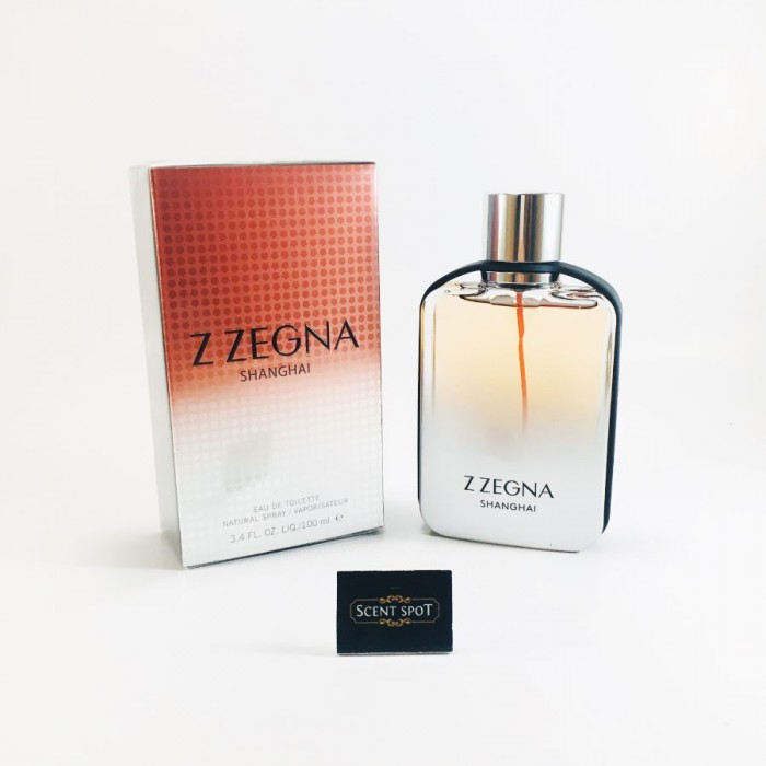 Z Zegna Shanghai by Ermenegildo Zegna (New in Box) 100ml Eau De Toilette Spray (Men)