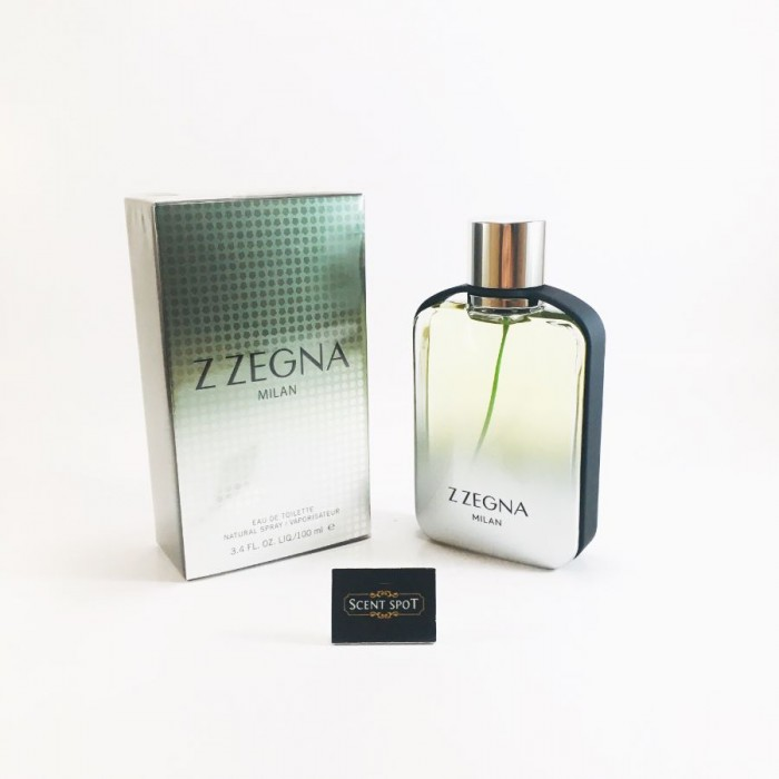 Z Zegna Milan by Ermenegildo Zegna (New in Box) 100ml Eau De Toilette Spray (Men)