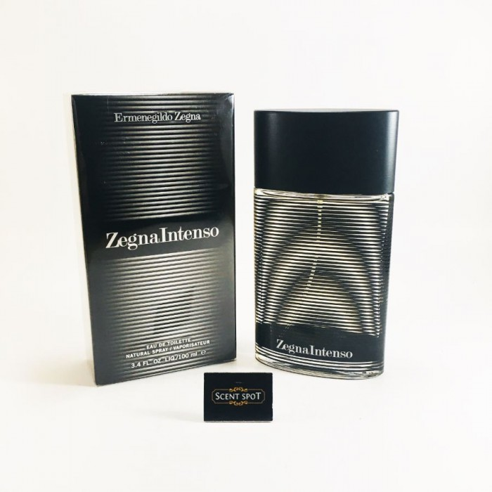Zegna Intenso by Ermenegildo Zegna (New in Box) 100ml Eau De Toilette Spray (Men)