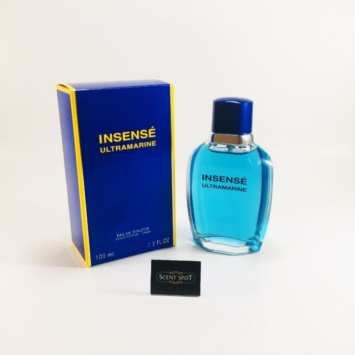 Insense Ultramarine by Givenchy (New in Box) 100ml Eau De Toilette Spray (Men)