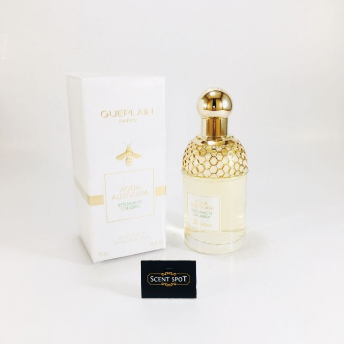 Aqua Allegoria Bergamote Calabria by Guerlain (New in Box) 75ml Eau De Toilette Spray (Women)