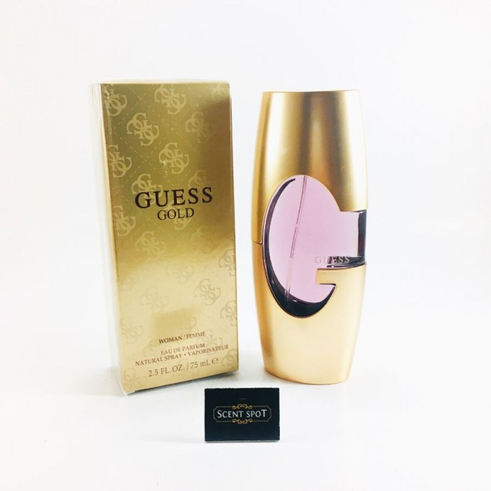 Guess Gold by Guess (New in Box) 75ml Eau De Parfum Spray (Women)