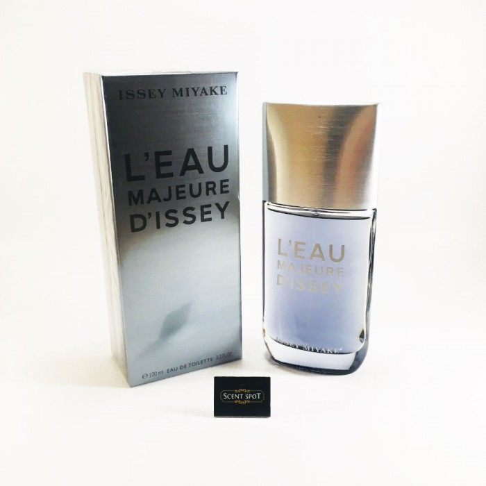 L'eau Majeure D'issey by Issey Miyake (New in Box) 100ml Eau De Toilette Spray (Men)