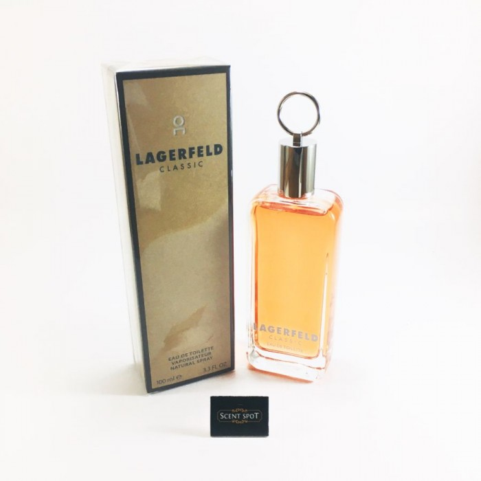 Lagerfeld by Karl Lagerfeld (New in Box) 100ml Eau De Toilette Spray (Men)