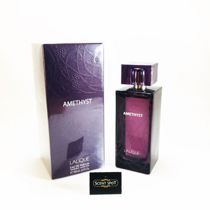 Amethyst by Lalique (New in Box) 100ml Eau De Parfum Spray (Women)