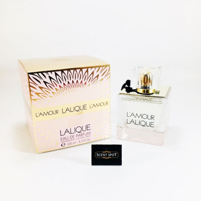 L'amour by Lalique (New in Box) 100ml Eau De Parfum Spray (Women)