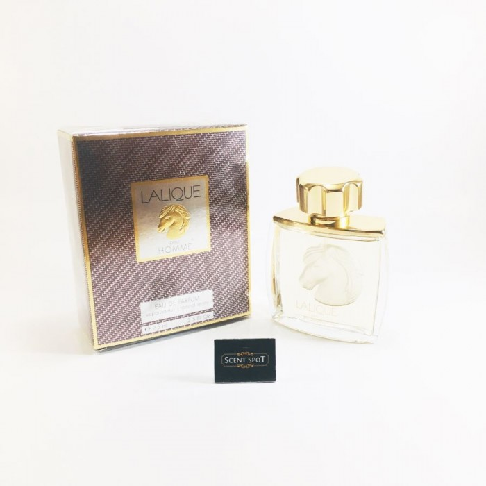 Lalique Equus (Horse Head) by Lalique (New in Box) 75ml Eau De Parfum Spray (Men)